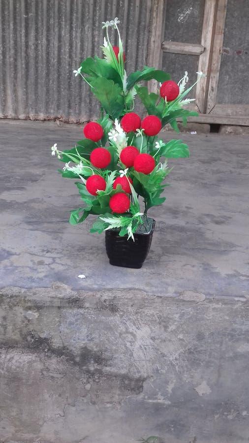 Flores artificiais fotos de stock