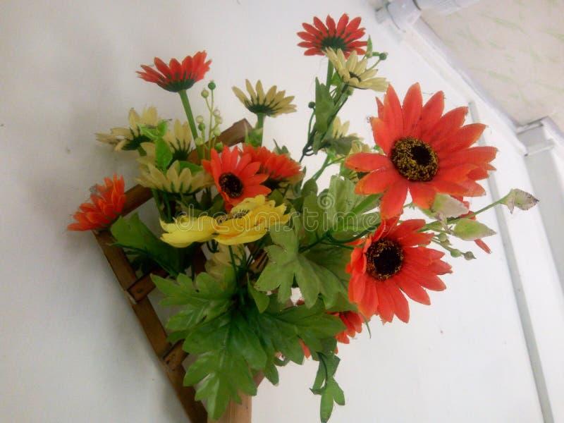 Flores artificiales fotografía de archivo