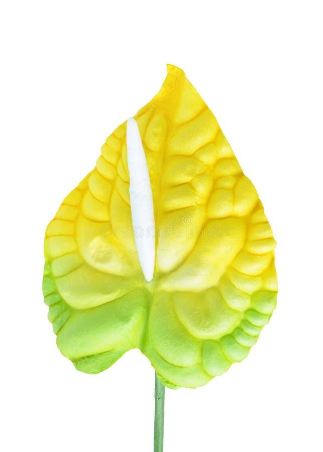 Flores artificiales del hibisco fotografía de archivo