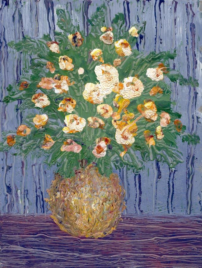 Flores brilhantes ilustração do vetor