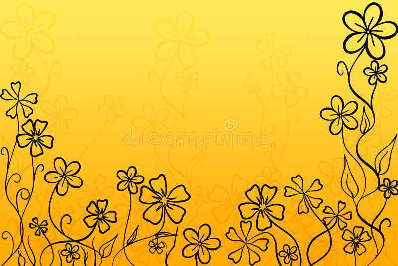 Flores calientes fotografía de archivo