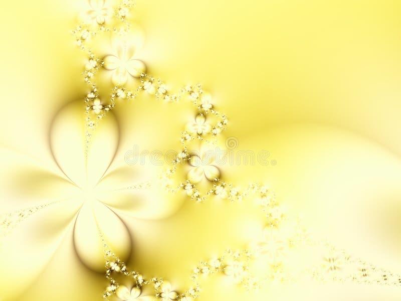 Flores claras do verão ilustração stock