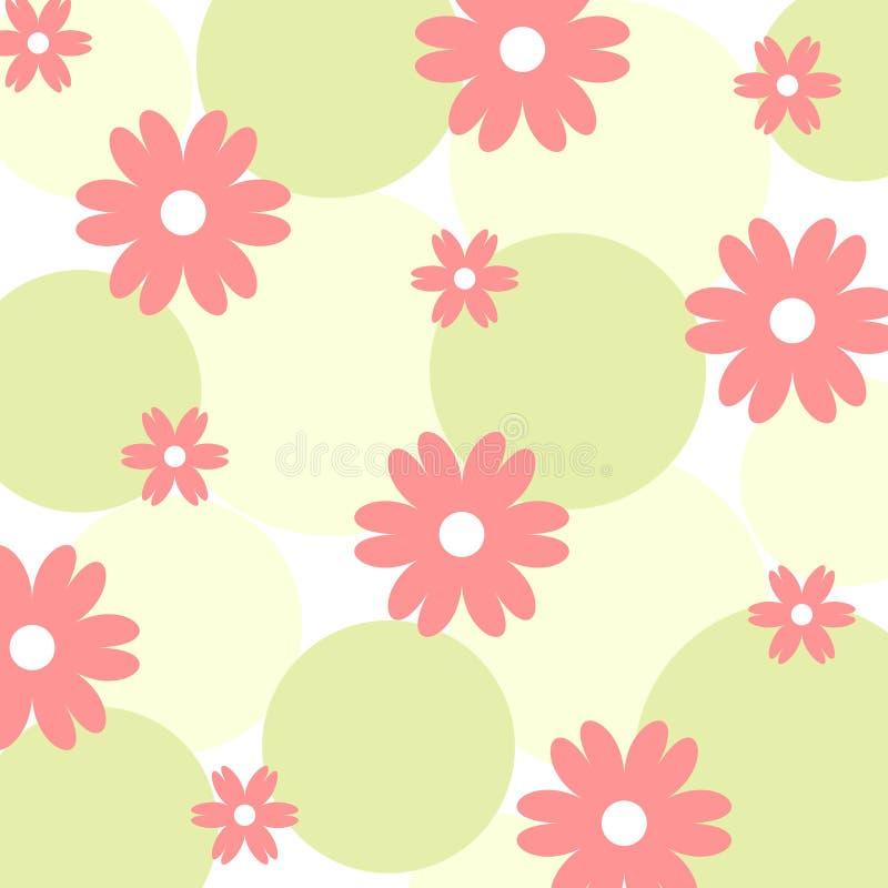 Flores cobardes stock de ilustración