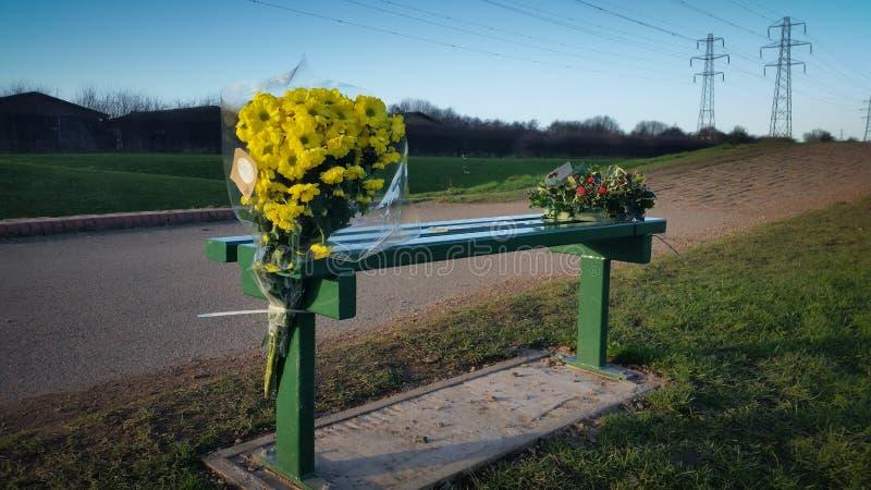 Flores conmemorativas fotos de archivo