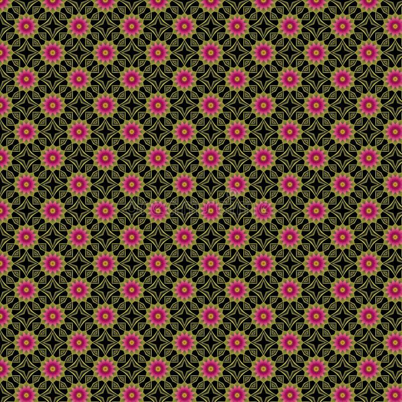 Flores da arte Op fotos de stock royalty free