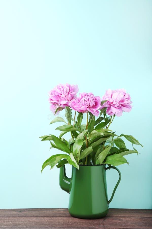 Flores da peônia foto de stock royalty free