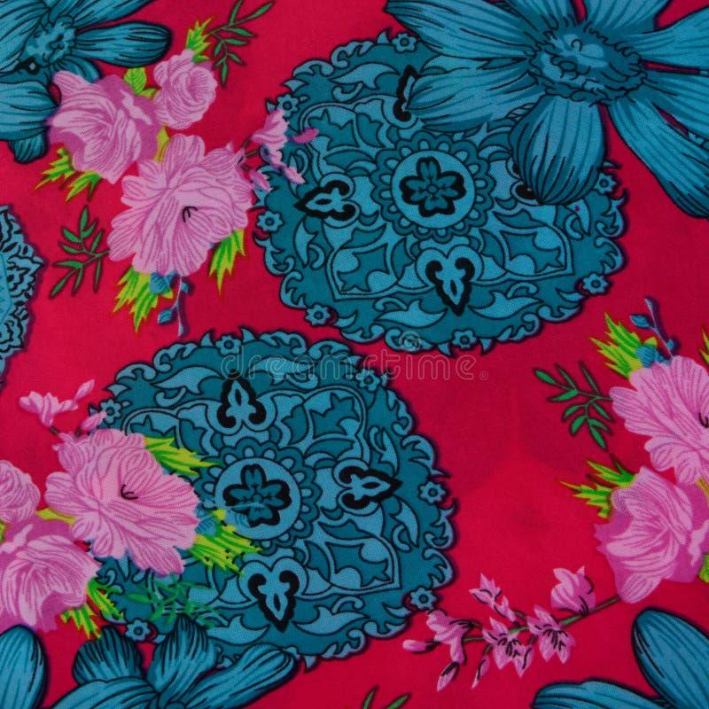 Flores da tela do fundo fotografia de stock royalty free