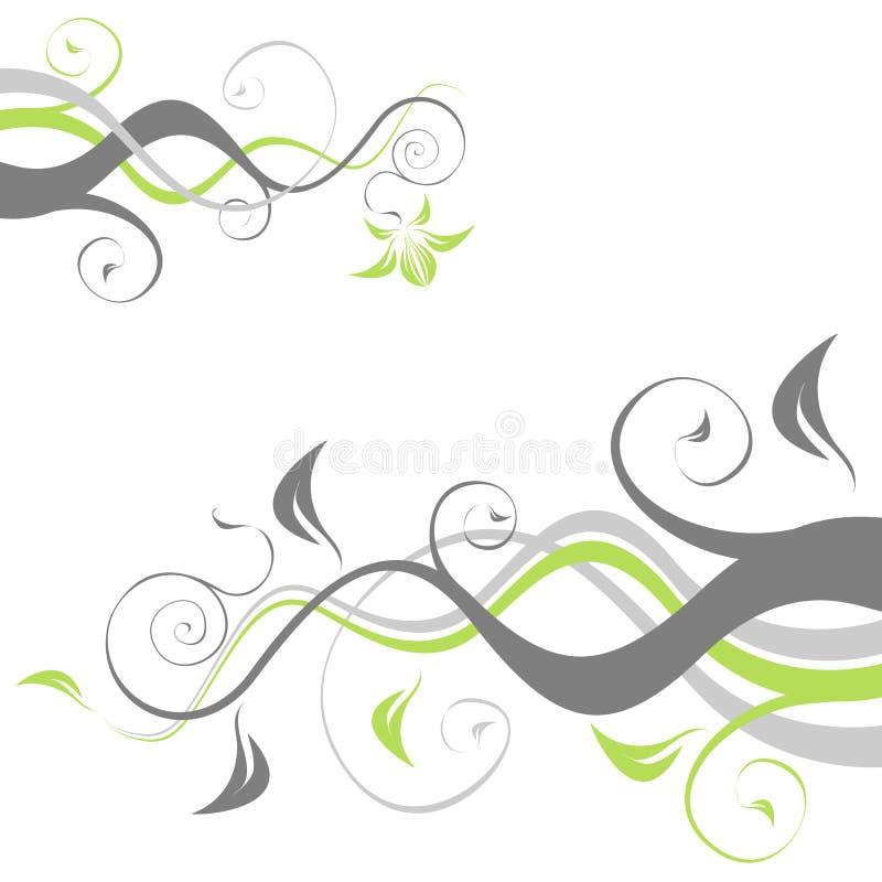 Flores de Abbstract stock de ilustración