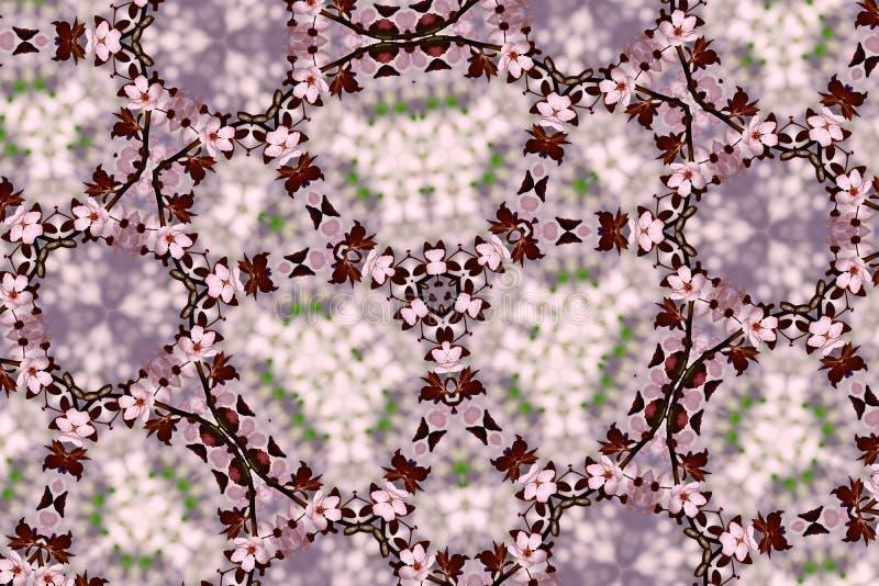 Flores de cerezo abstractas imágenes de archivo libres de regalías