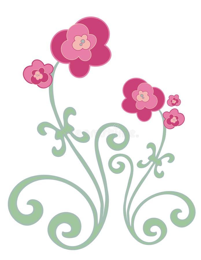 Download Flores de Fuschia ilustração stock. Ilustração de cresça - 541685