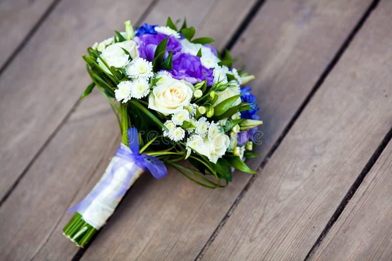 Flores de la boda foto de archivo