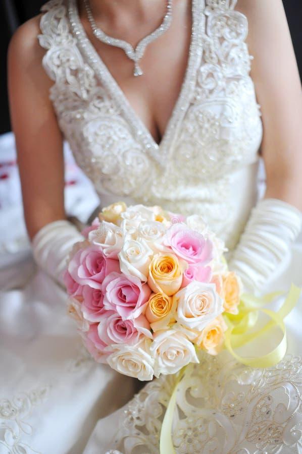 Flores de la boda imágenes de archivo libres de regalías