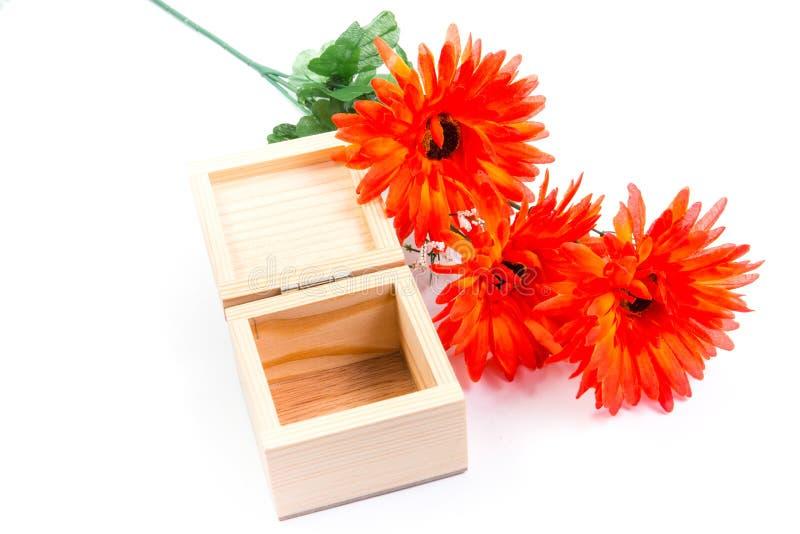 Flores de la caja imagen de archivo libre de regalías