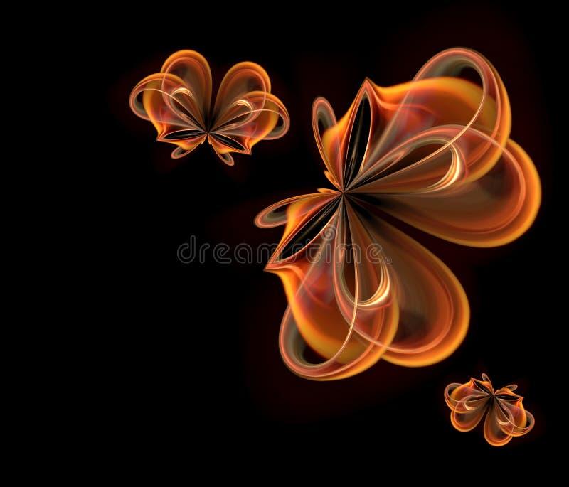 Flores de la fantasía libre illustration