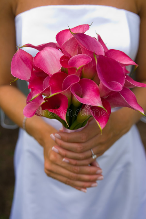 Flores de la novia fotografía de archivo