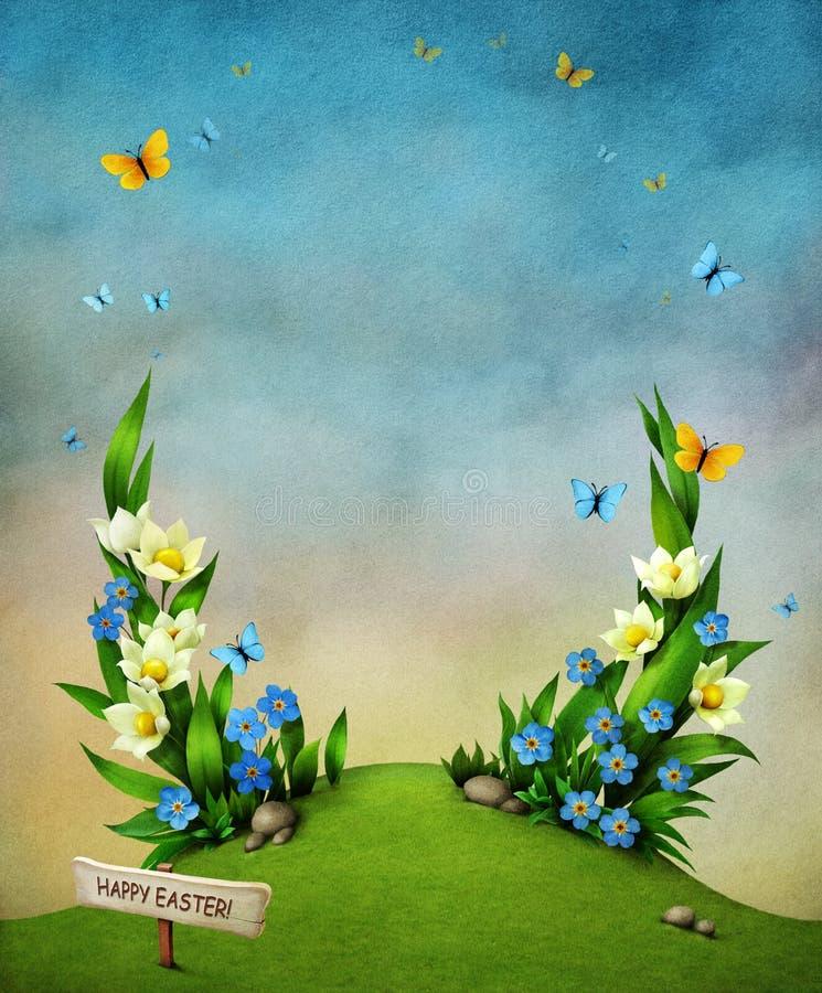 Flores de la primavera. stock de ilustración