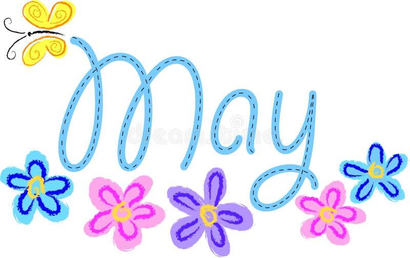 Flores de mayo ilustración del vector