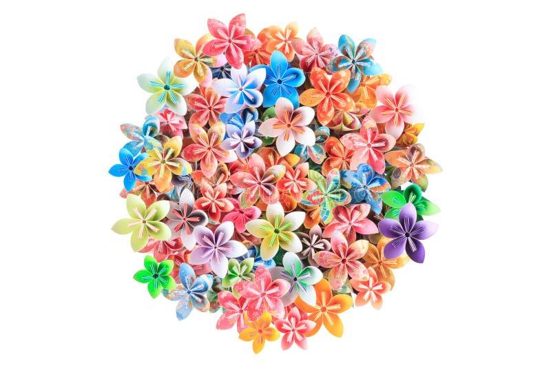 Flores de papel foto de stock royalty free