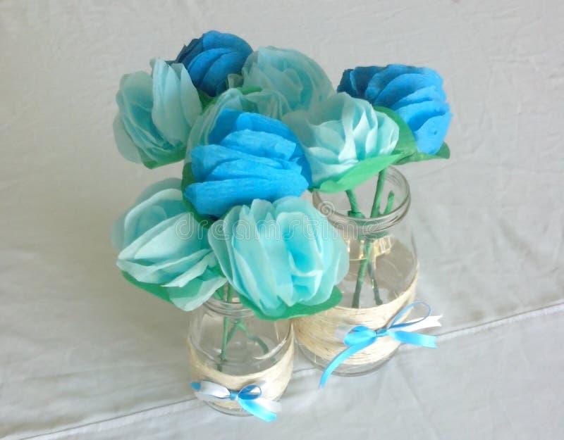 Flores de papel dei fiori di carta fotografia stock