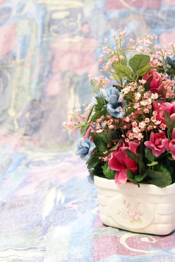 Flores de seda fotos de stock