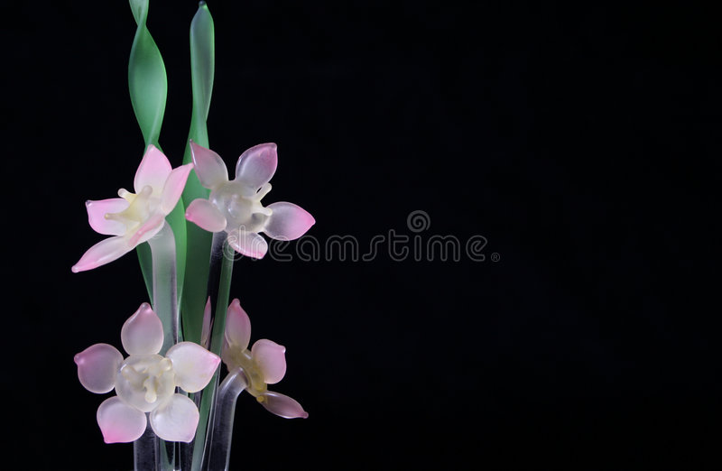 Download Flores de vidro imagem de stock. Imagem de boarder, casamento - 529083