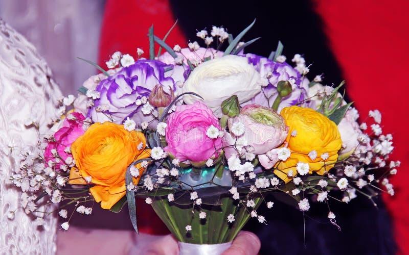 Flores de Weding fotografía de archivo libre de regalías