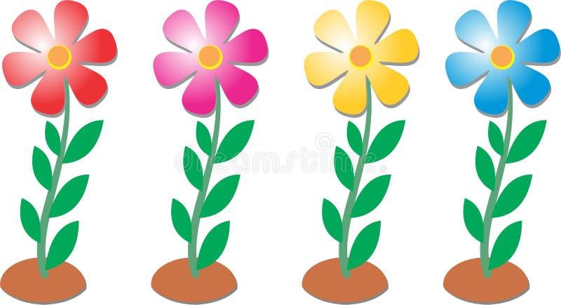 Flores del colorante por Ganeshandra imagen de archivo libre de regalías