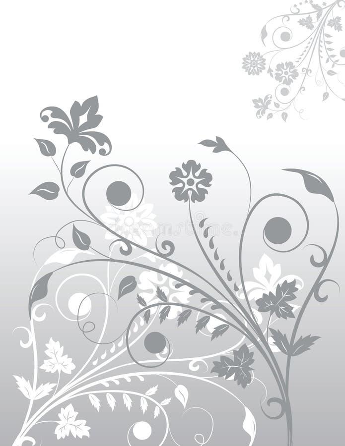 Flores del fondo ilustración del vector