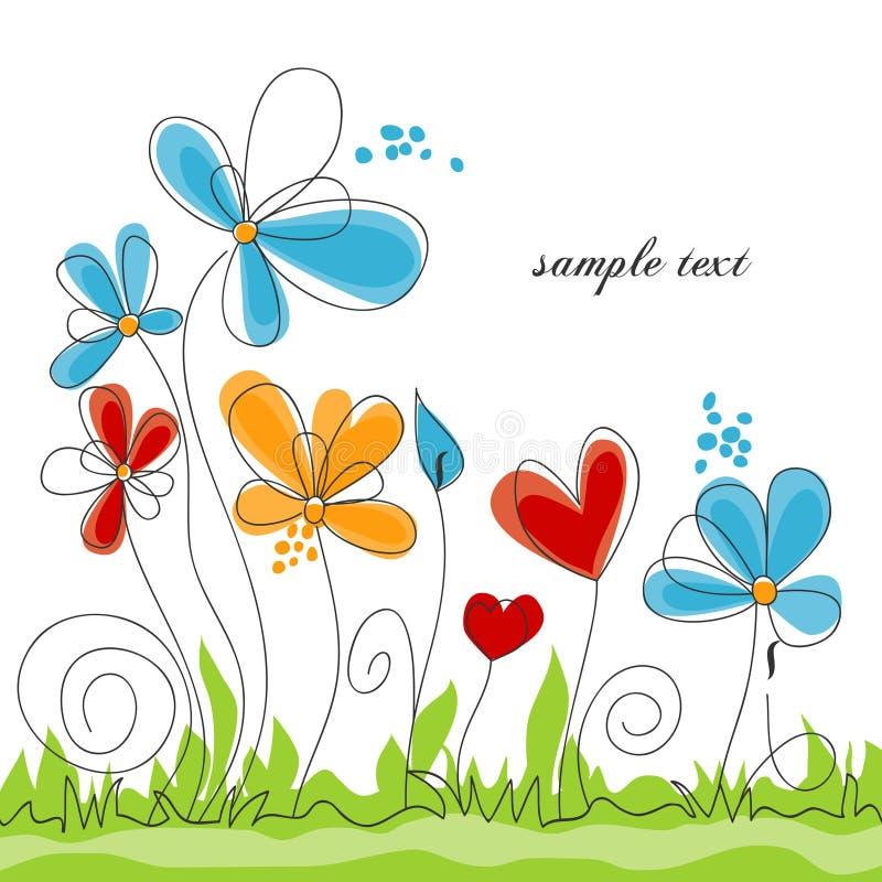 Flores del resorte libre illustration