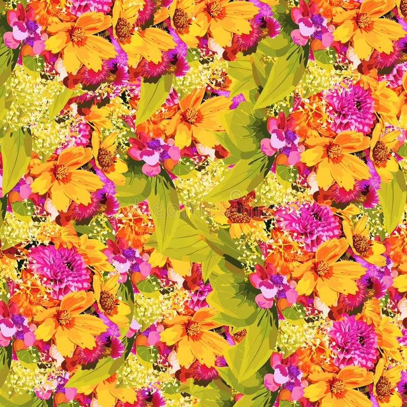 Flores del verano libre illustration