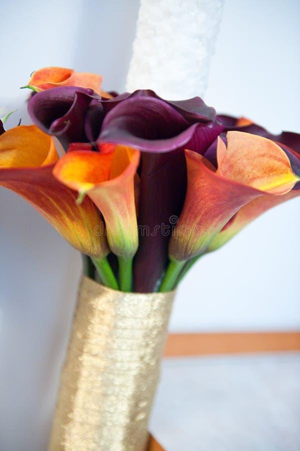 Flores do casamento imagens de stock royalty free
