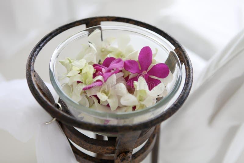 Flores do casamento. fotos de stock royalty free