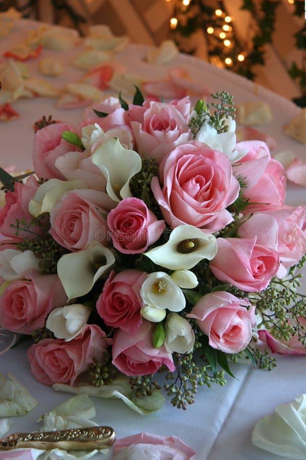 Flores do casamento fotografia de stock