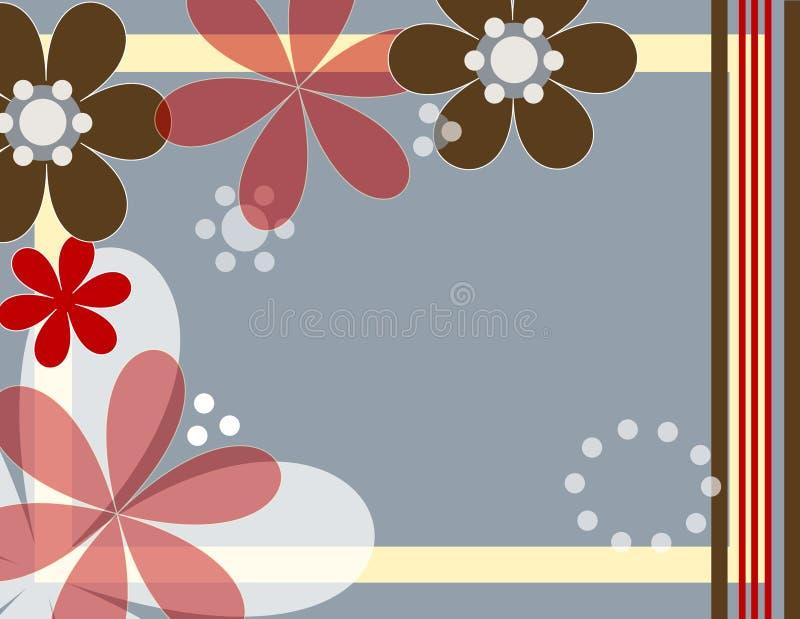 Flores do divertimento ilustração royalty free