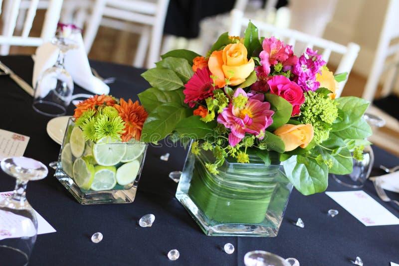 Flores do evento fotografia de stock royalty free