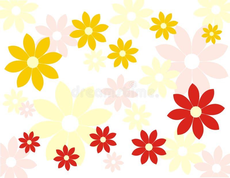 Flores do fundo ilustração stock