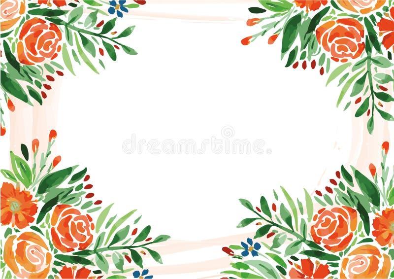 Flores do fundo imagem de stock