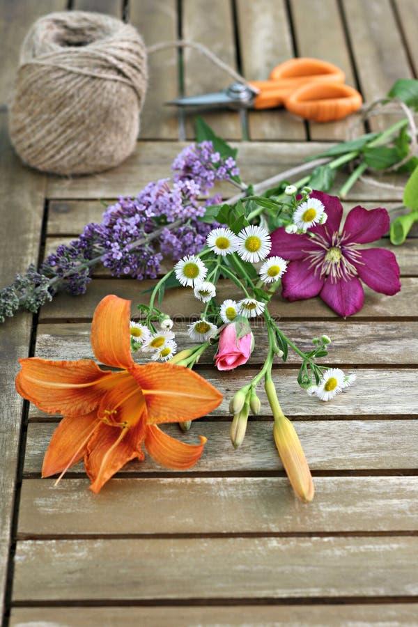 Flores do jardim foto de stock royalty free