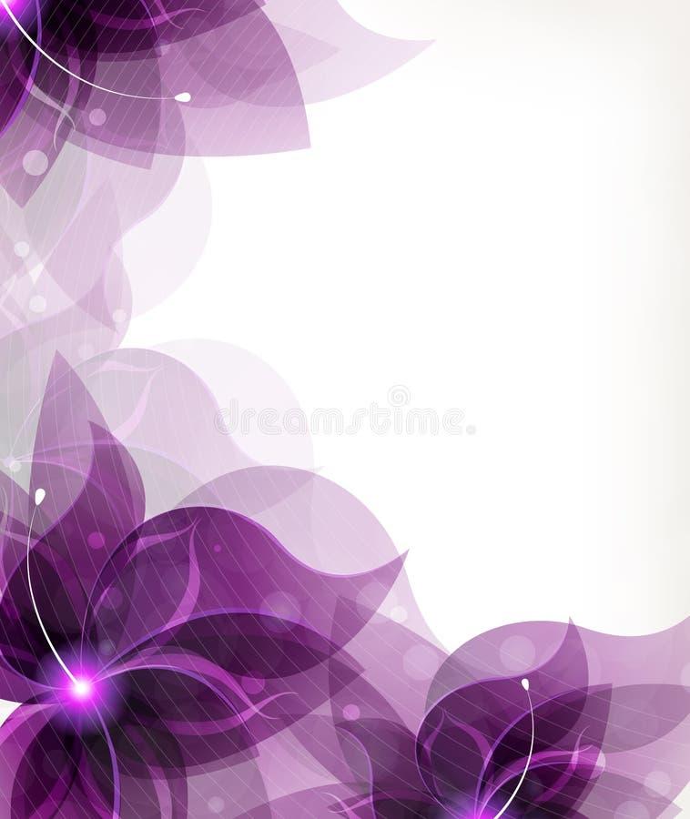 Flores do Lilac ilustração royalty free