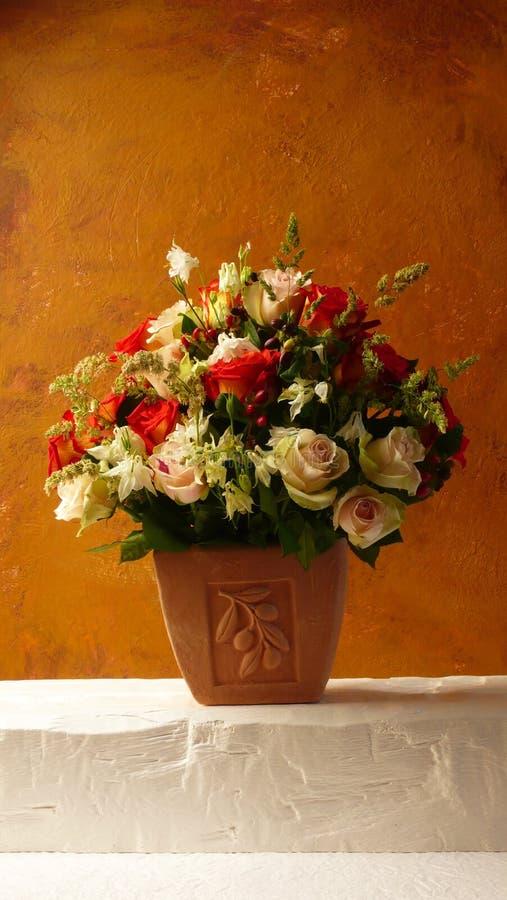 Flores do Terracotta fotos de stock