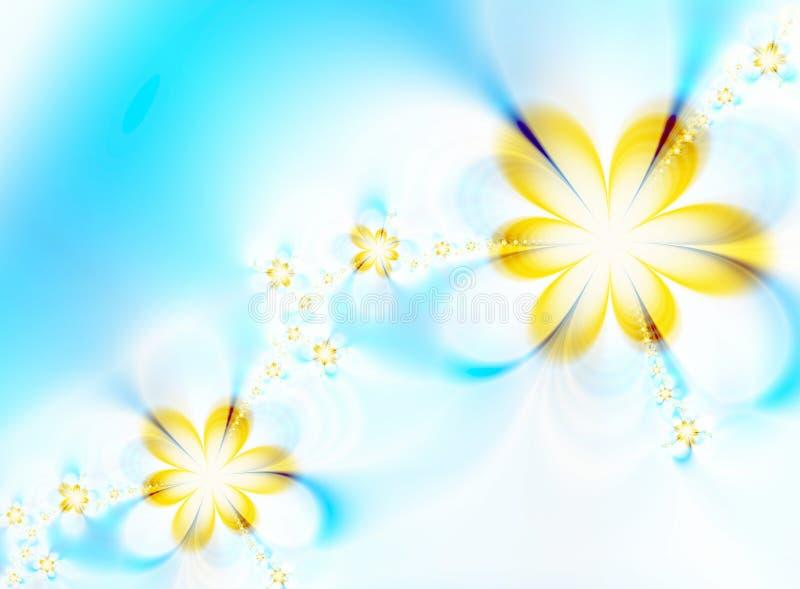 Flores Dreamlike ilustración del vector