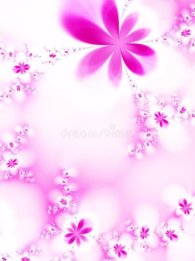 Flores Dreamlike stock de ilustración