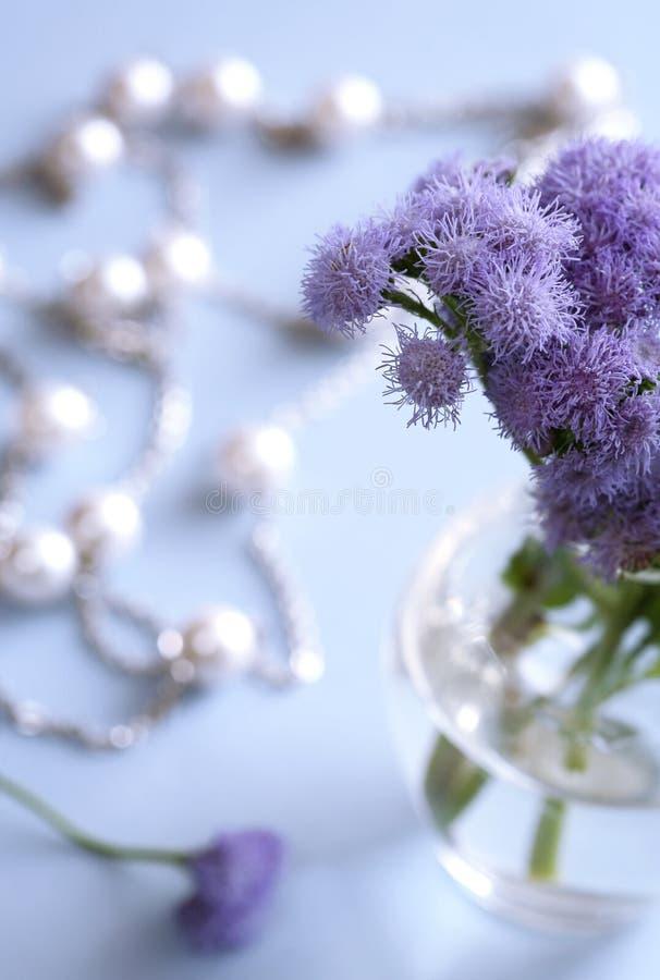 Flores en el florero imágenes de archivo libres de regalías