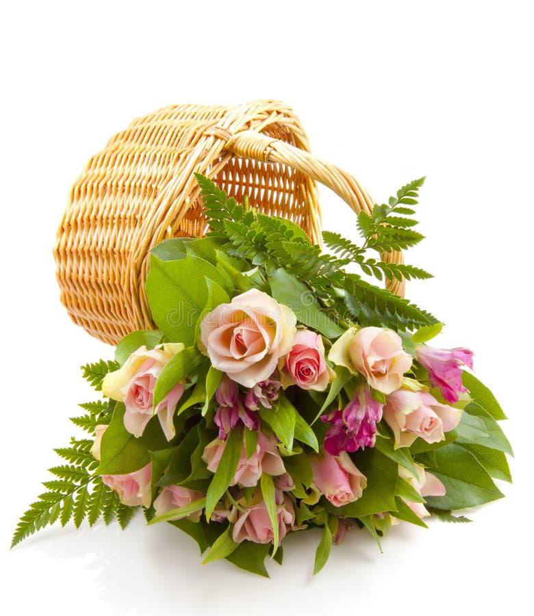 Flores encantadoras do ramalhete fotos de stock royalty free