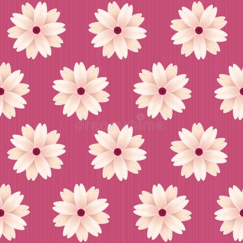 Flores florecientes de Sakura Vector el modelo inconsútil ilustración del vector