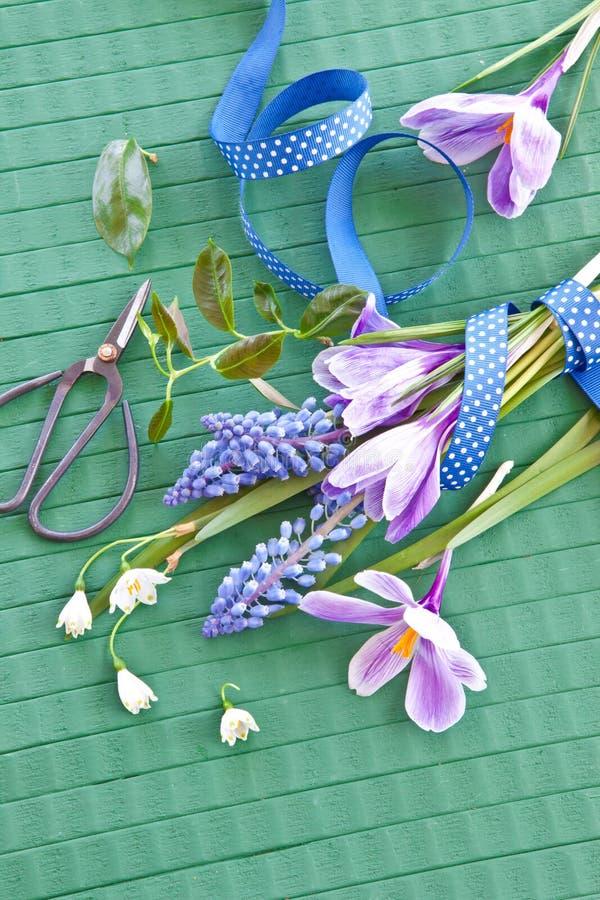 Flores frescas da mola foto de stock
