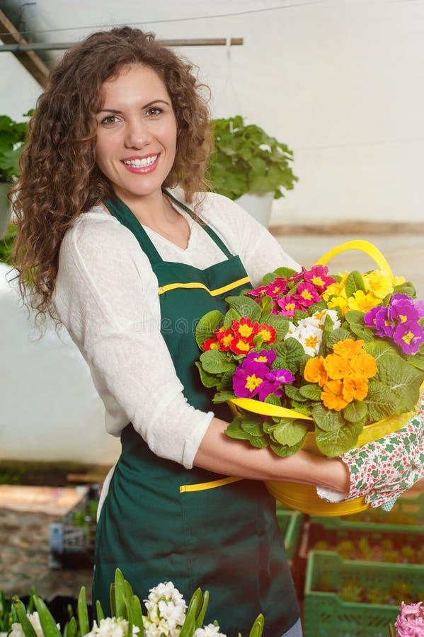 Flores hermosas listas para el mercado imagenes de archivo