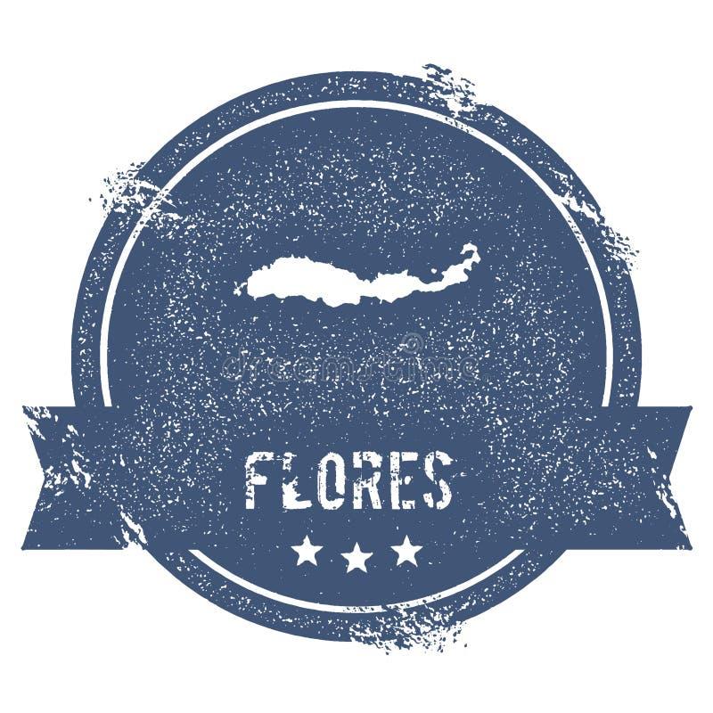 Flores loga znak royalty ilustracja