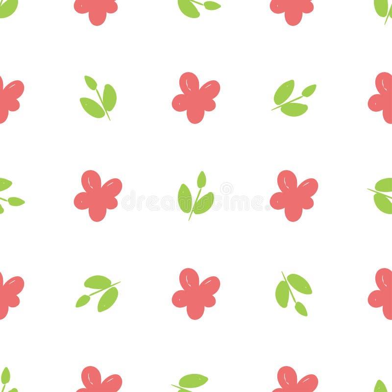Flores a mano hermosas simples libre illustration
