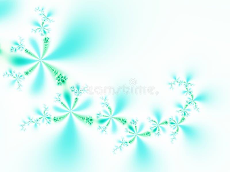 Flores maravillosas stock de ilustración